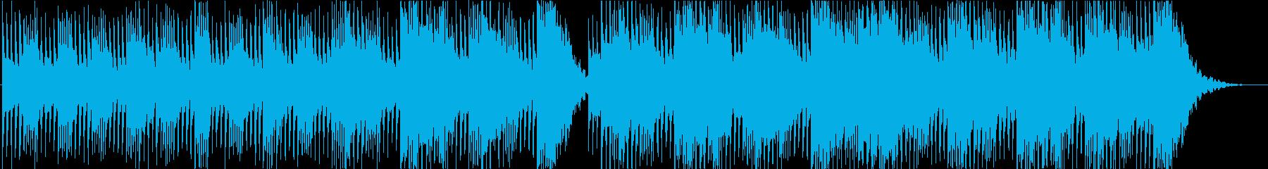 アップテンポな和太鼓乱れ打ち 締太鼓 鼓の再生済みの波形