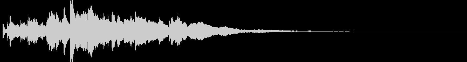 効果音  キラキラ 1の未再生の波形