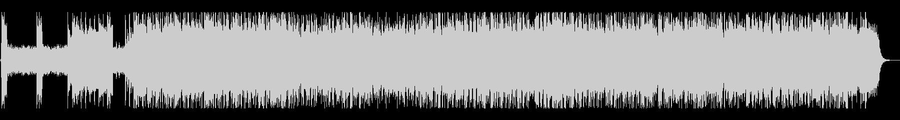 激情的なパンクサウンド#01の未再生の波形