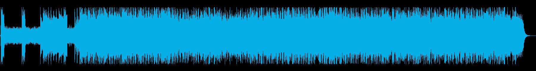 激情的なパンクサウンド#01の再生済みの波形