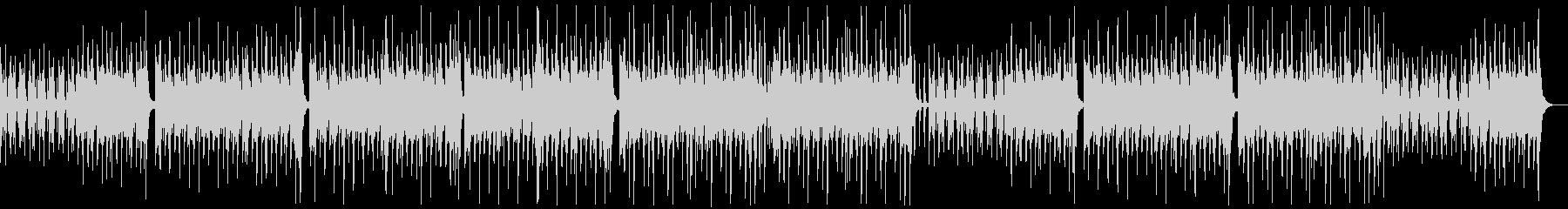 のんびり楽しいレゲエポップ:ピアノ無しの未再生の波形