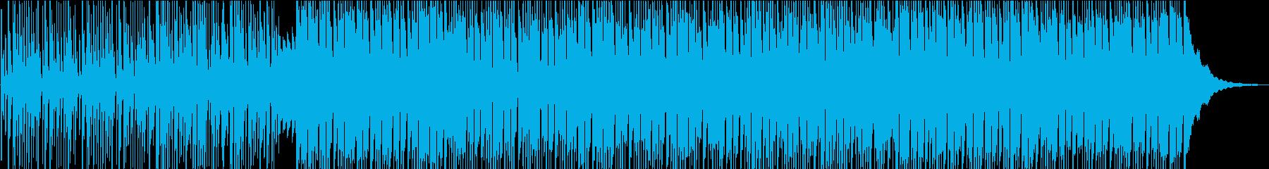 伝統的な東洋の楽器は、現代的なビー...の再生済みの波形