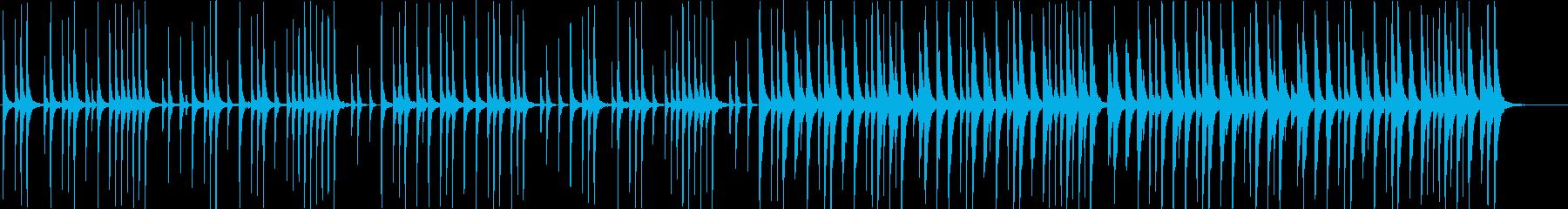 ゆったりとした沖縄風BGM/海/自然/島の再生済みの波形