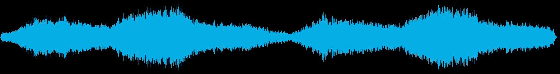 退廃的、滅亡した後の場面に合うBGMの再生済みの波形