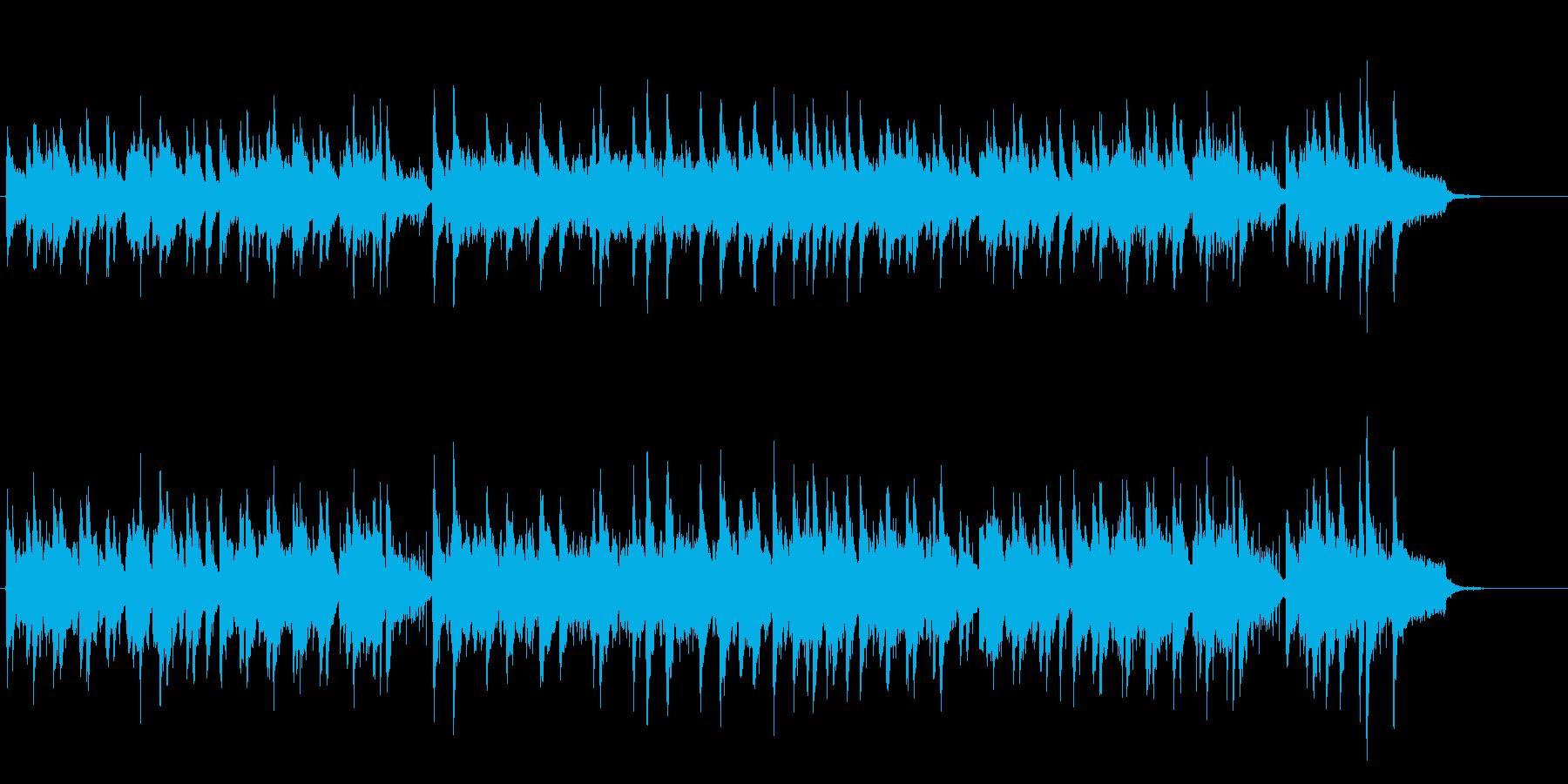 おだやかでさりげないミディアム・バラードの再生済みの波形