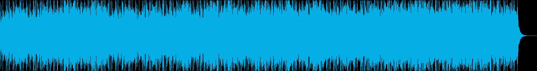 民族的なクワイアの怪しい曲の再生済みの波形