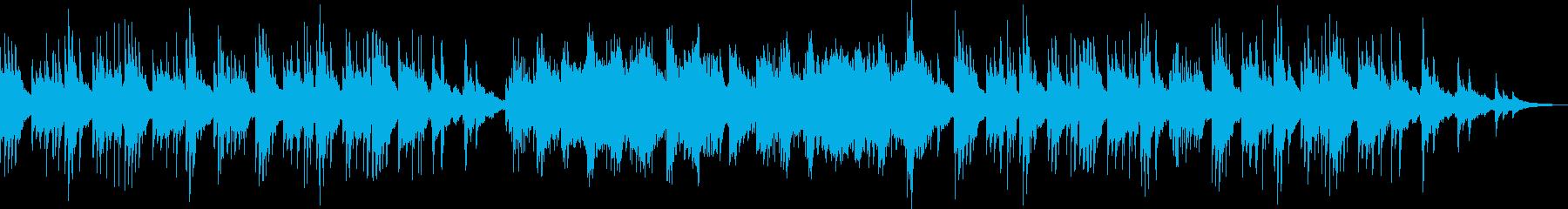 流れ星をイメージしたピアノソロの再生済みの波形
