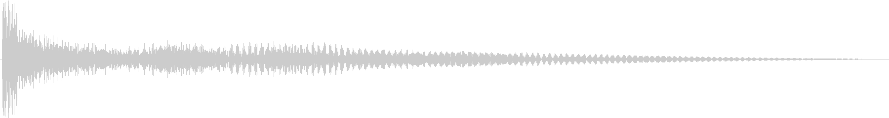 ティンパニ:低いティンパニ、輝きの未再生の波形