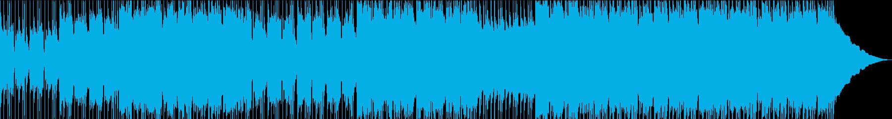 これはコマーシャルサウンドで、刺激的で、の再生済みの波形