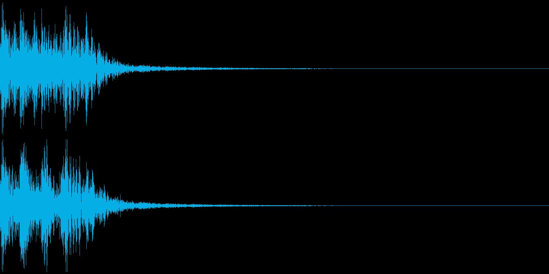 プルル レベルアップ アイテムゲットの再生済みの波形