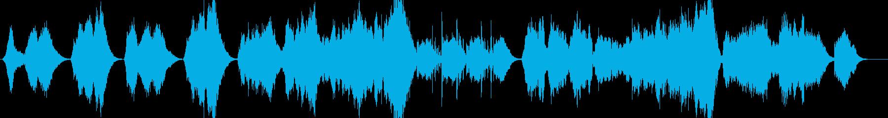 冬 悲しい 切ない 感動 BGMの再生済みの波形