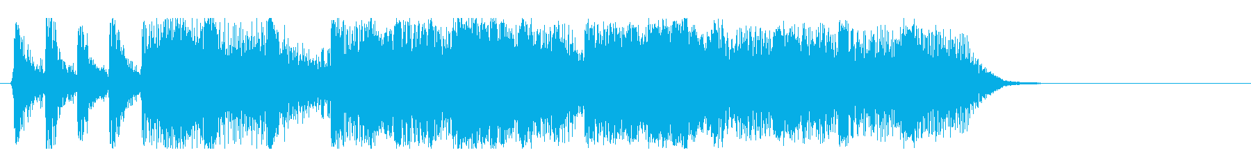 クイズ回答オープン!の再生済みの波形