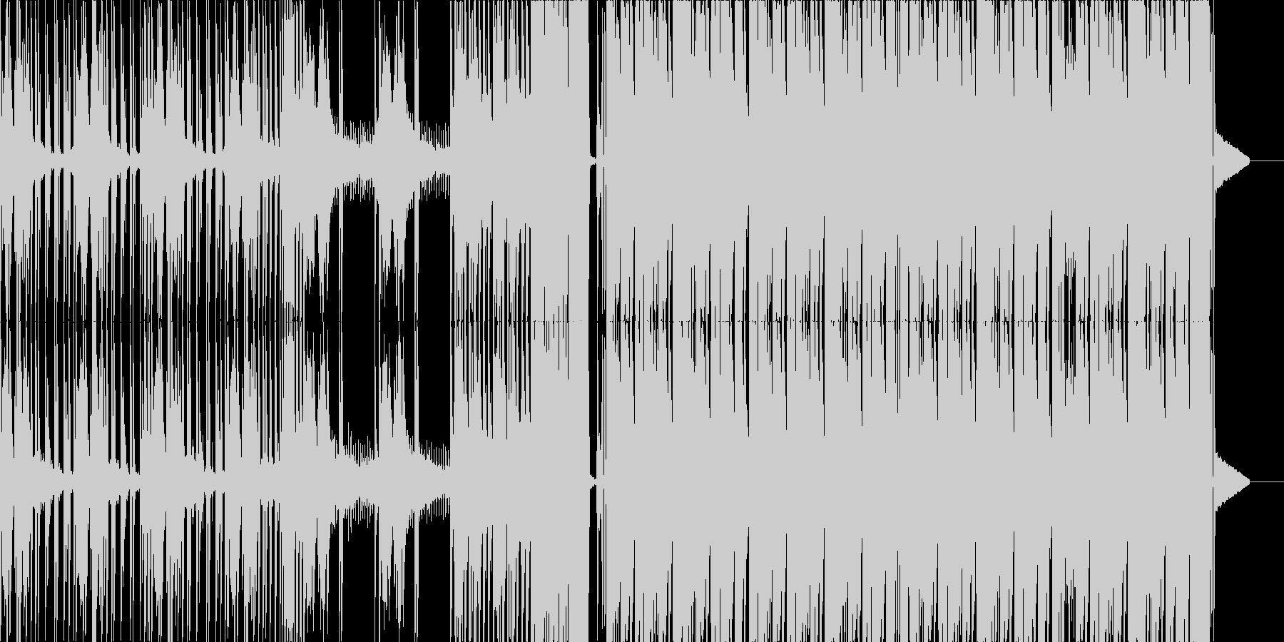 怖めなダーク・ダブステップの未再生の波形