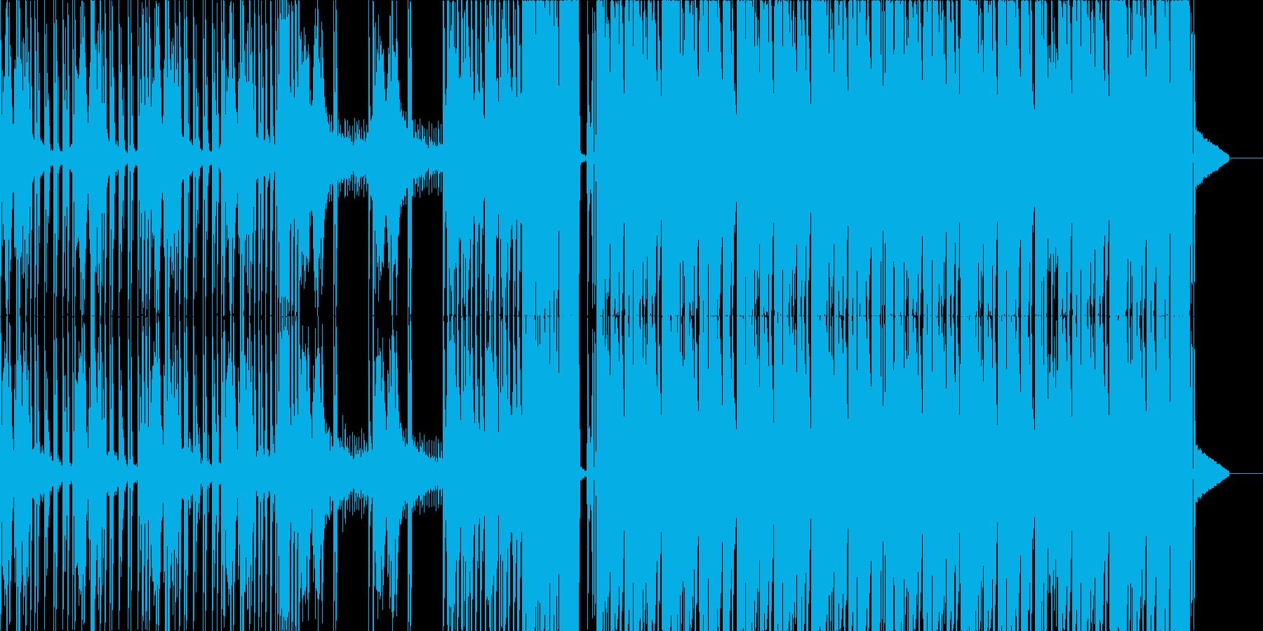 怖めなダーク・ダブステップの再生済みの波形
