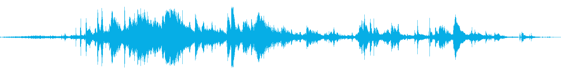 グラスフォールズミディアム;中程度...の再生済みの波形