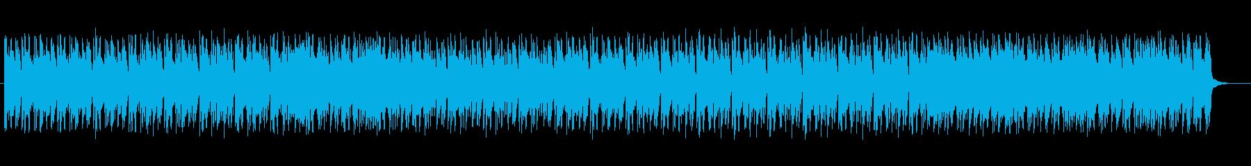 可愛らしく爽やかなテクノの再生済みの波形