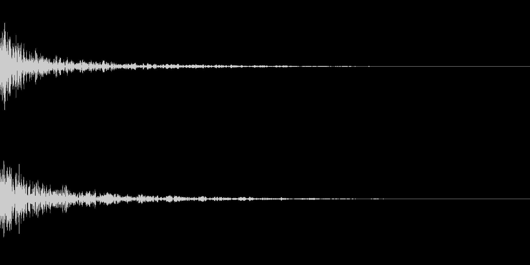 ドーン-38-1(インパクト音)の未再生の波形