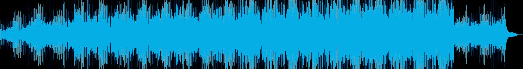 ギター・ピアノ・ストリングス・ポジティブの再生済みの波形