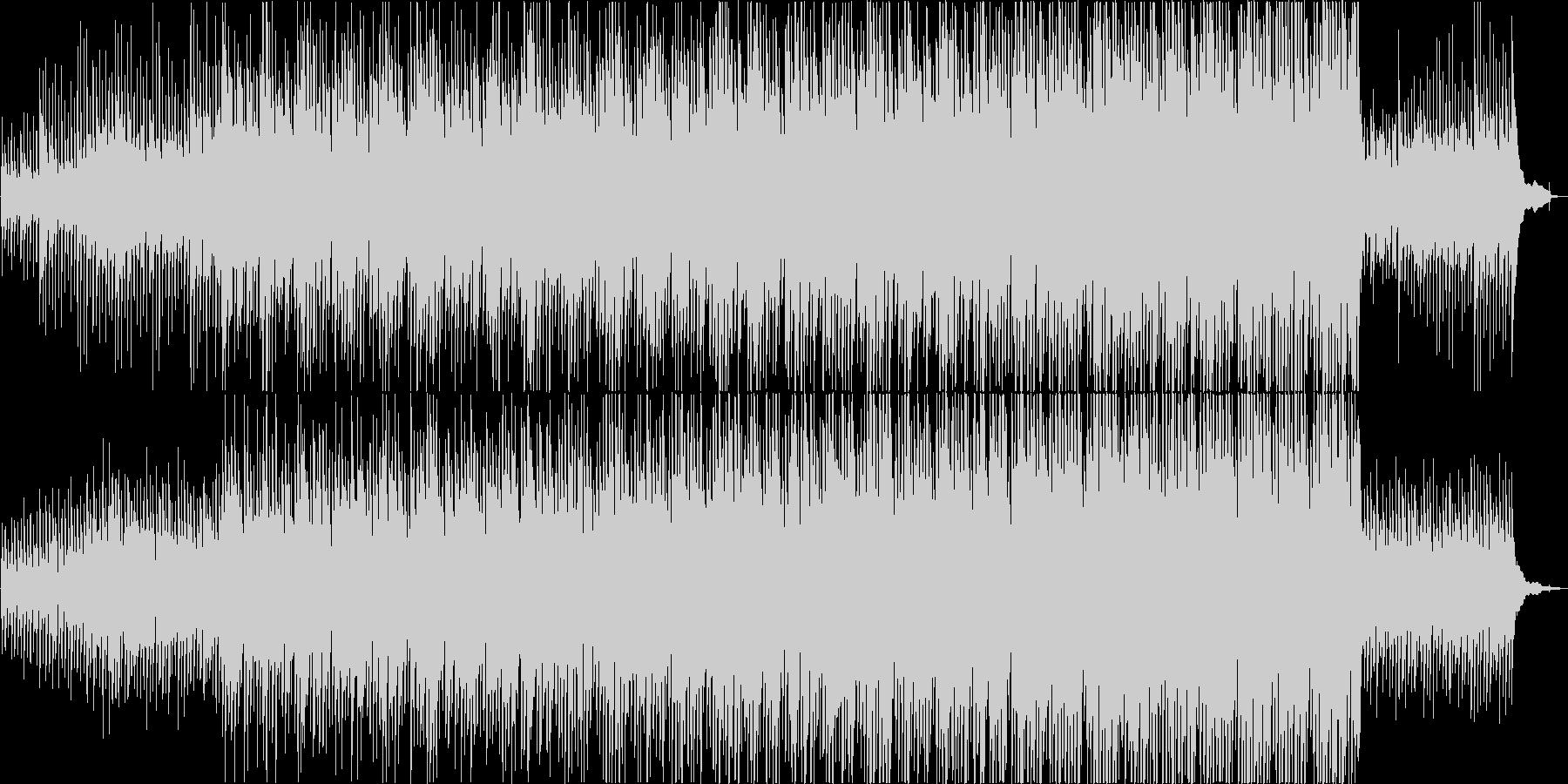 ギター・ピアノ・ストリングス・ポジティブの未再生の波形