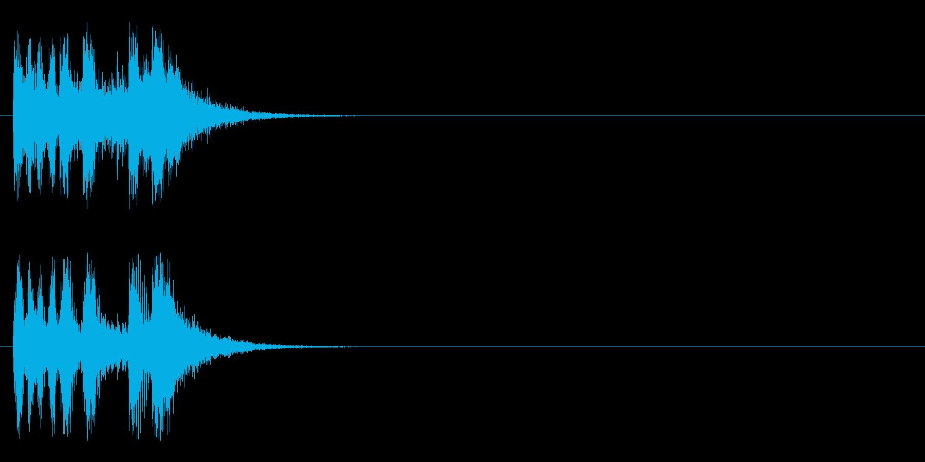 ジングル/オーケストラ(ドキュメント風)の再生済みの波形