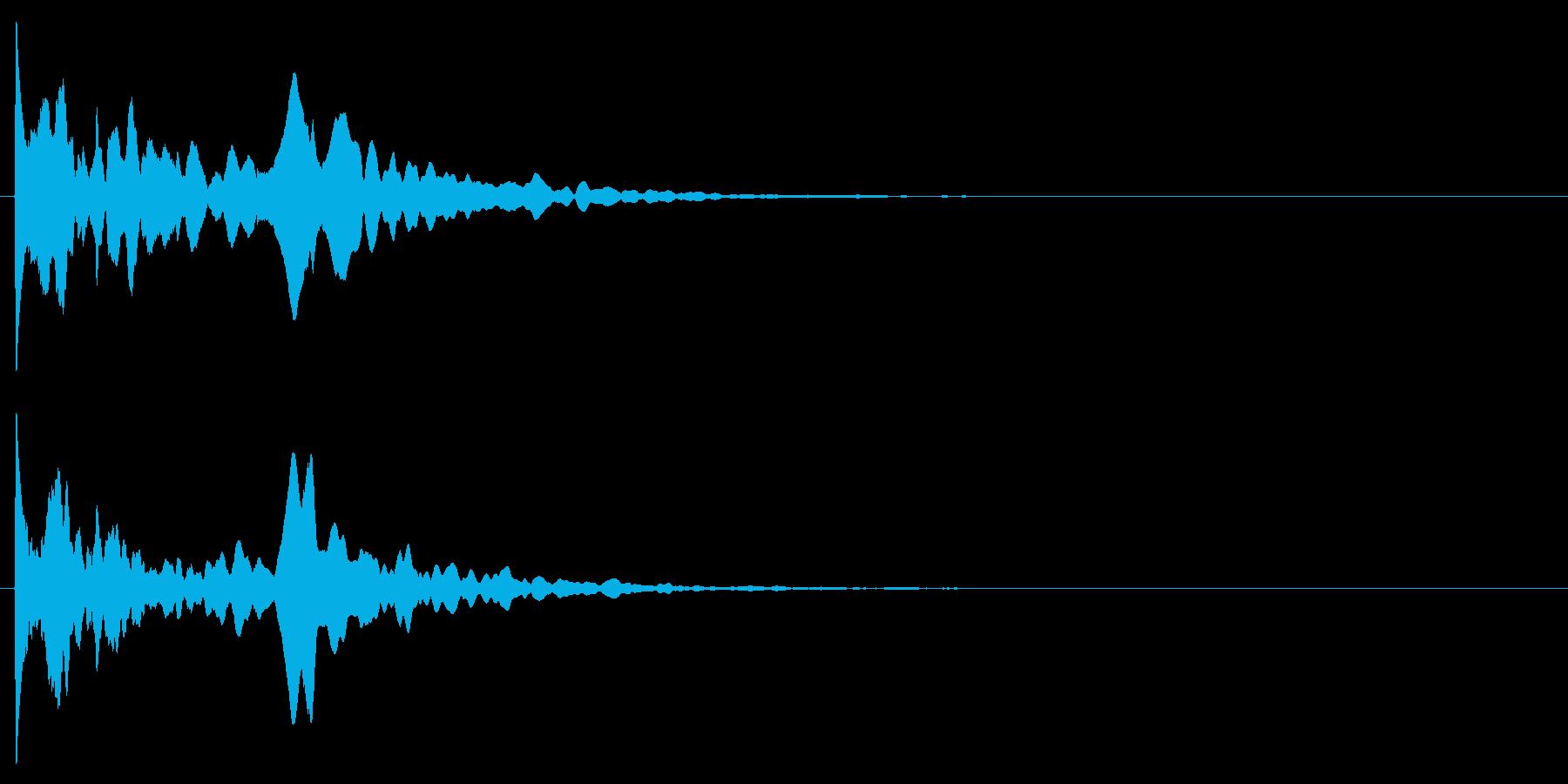 コーン/予感/不気味の再生済みの波形