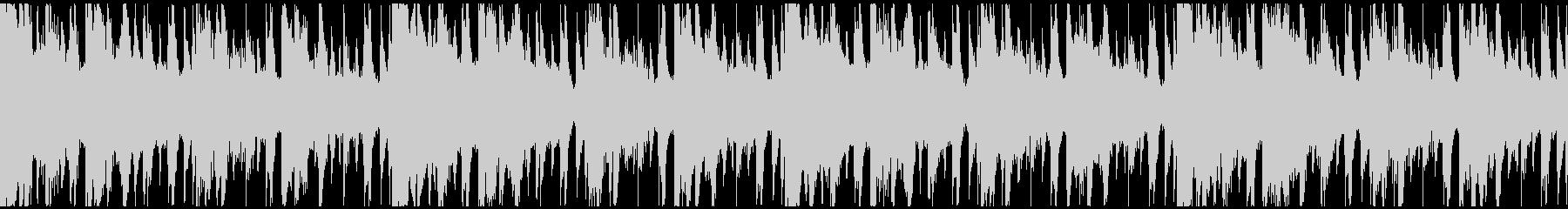 コード進行のエレクトロニカBGMループの未再生の波形