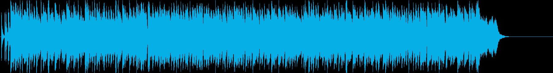 テーマ さわやか いきいきの再生済みの波形