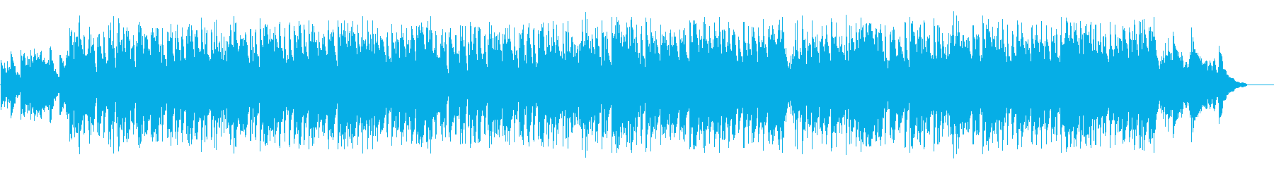 Crossfade screen of smiles and memories's reproduced waveform
