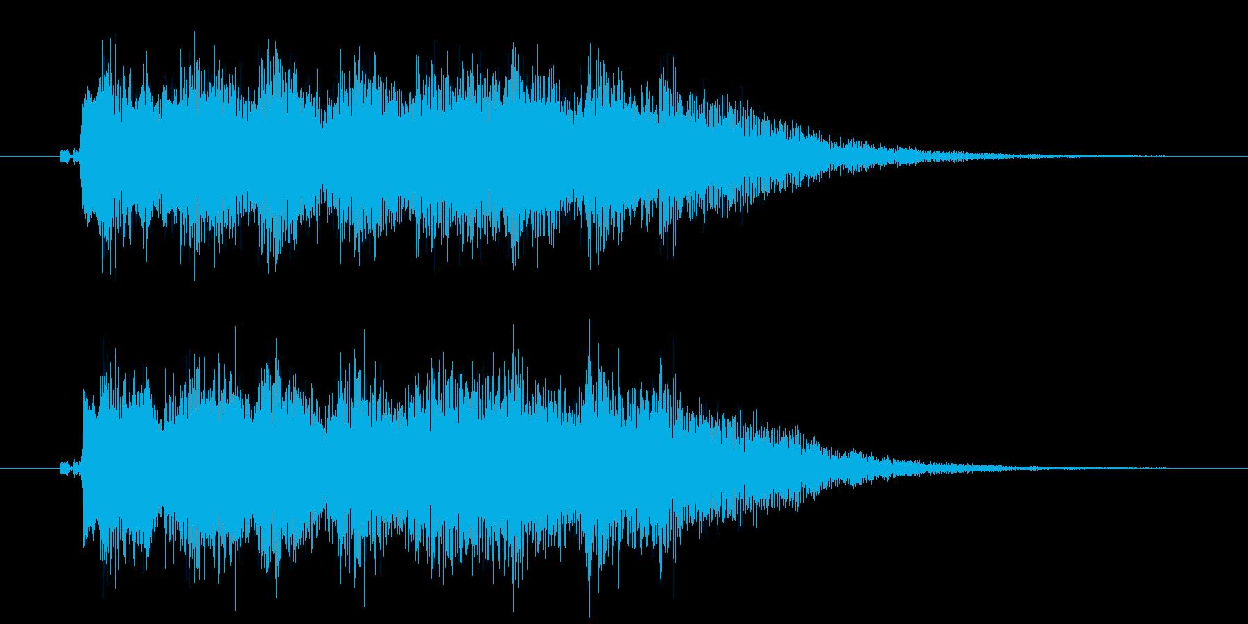 ドンドンパフパフ!の再生済みの波形