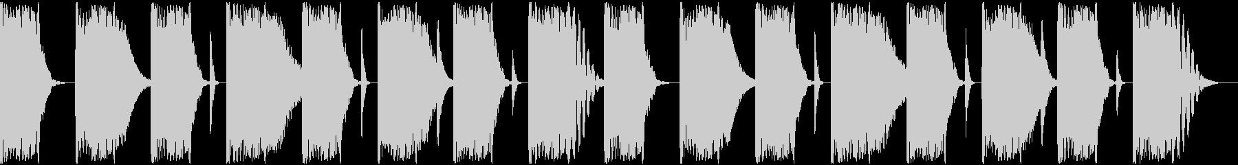 【エレクトロニカ】ロング2、ショート2の未再生の波形