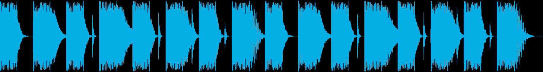 【エレクトロニカ】ロング2、ショート2の再生済みの波形