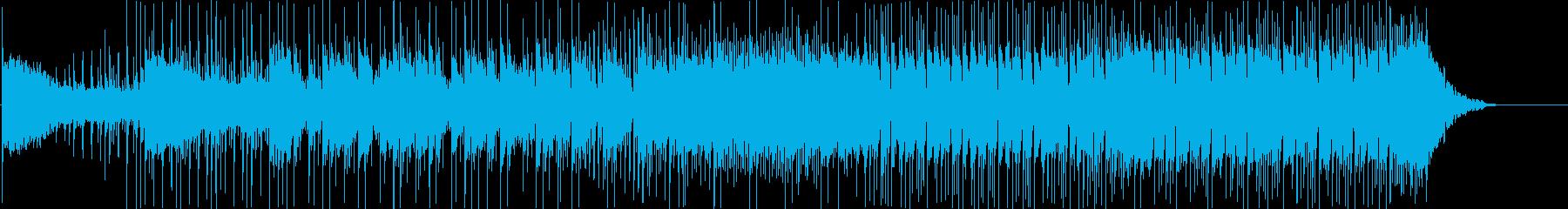和風、三味線、エレクトロ、緊張感、躍動感の再生済みの波形