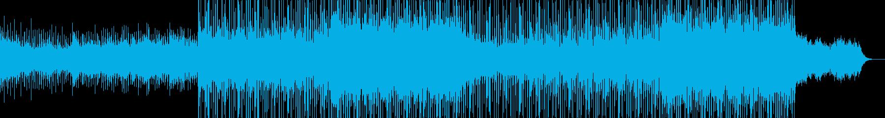現代的で都会的なシンセミュージック-18の再生済みの波形