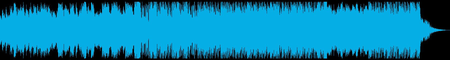 水と疾走感のリキッドドラムンベースの再生済みの波形