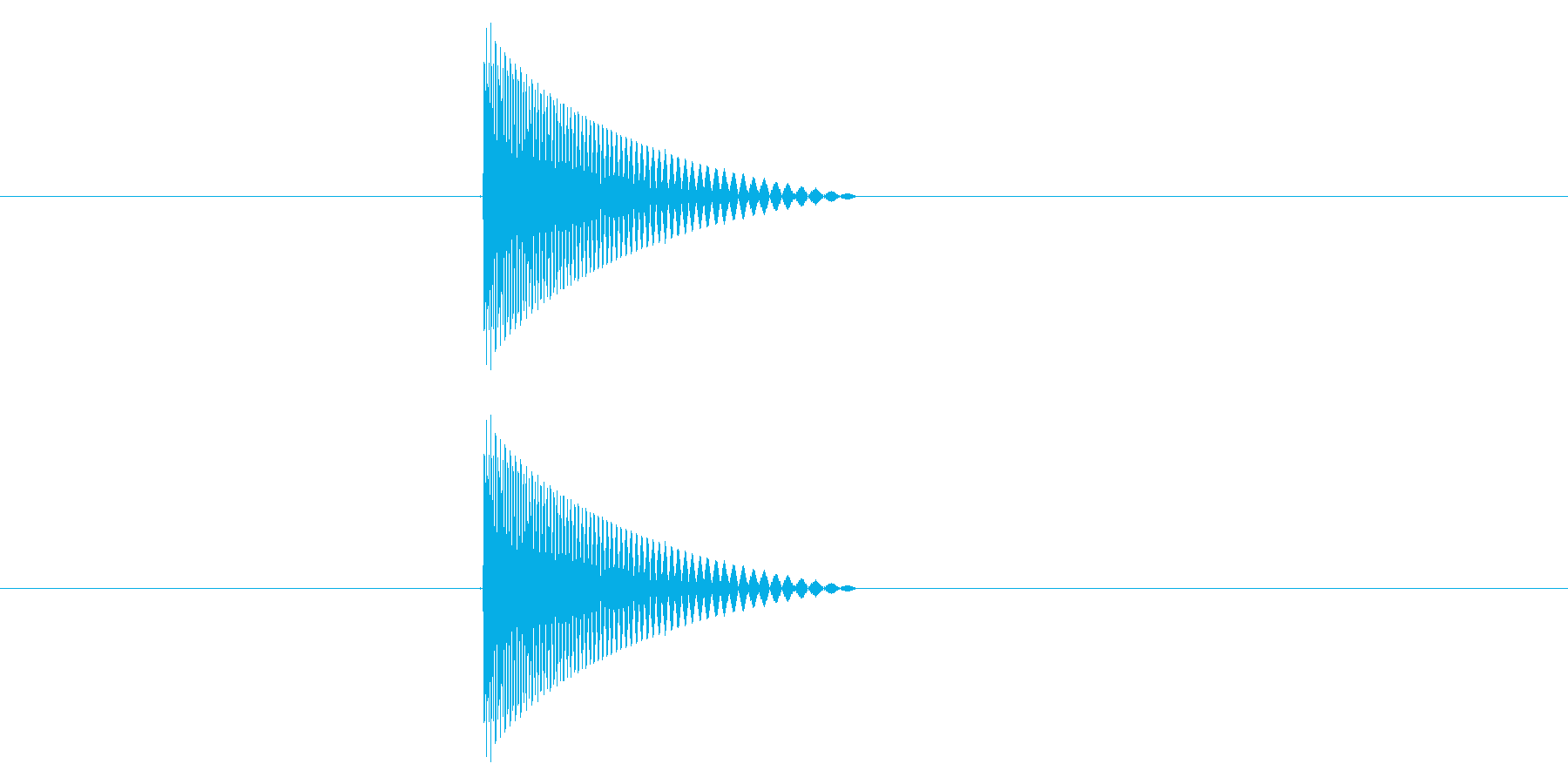 ファミコン風_ピュン_弾を打つ音7の再生済みの波形