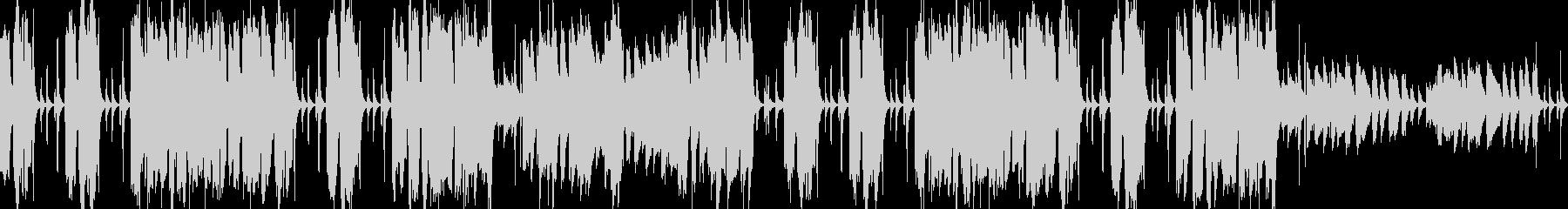 CMループ曲 軽やかマレット&クラップの未再生の波形