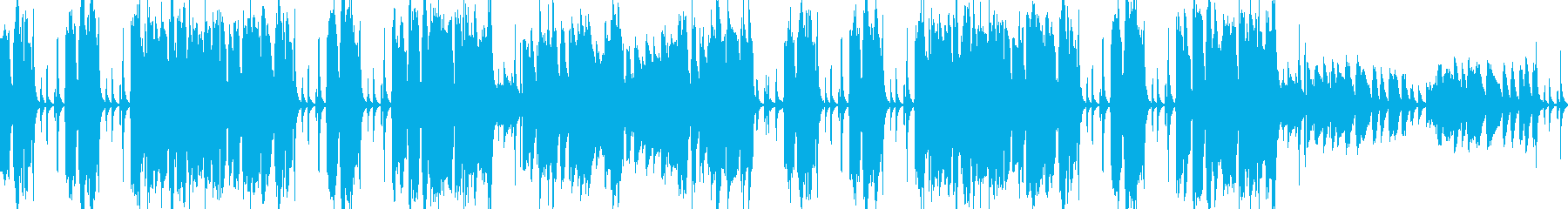 CMループ曲 軽やかマレット&クラップの再生済みの波形