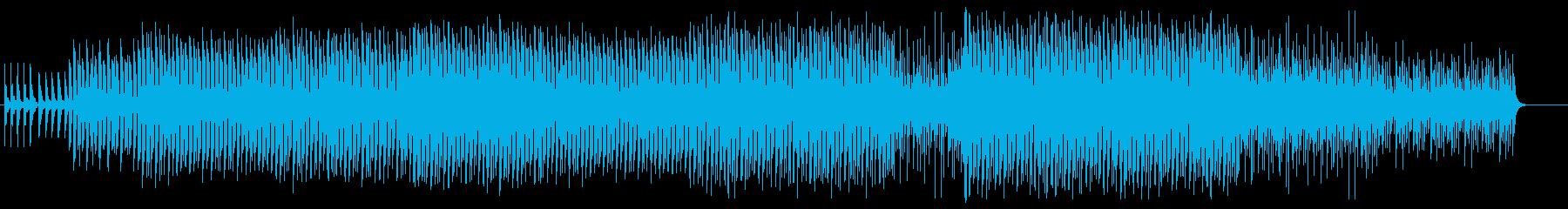 愉快で楽し気なトイテクノの再生済みの波形