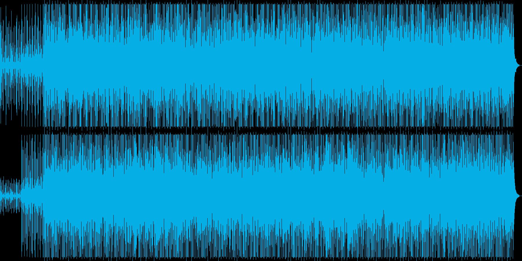 緊張感のシンセ弦楽器ポップテクノ系の再生済みの波形