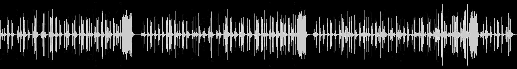 のらりくらりなBGM_犬・牧場・お昼寝の未再生の波形