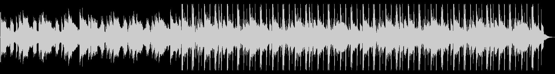 溶けそうなR&B_No635_3の未再生の波形