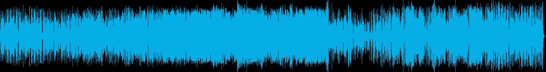 スムーズジャズ。ラテンジャズ、歌、...の再生済みの波形