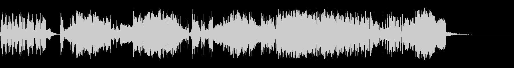 高オクタンの未再生の波形