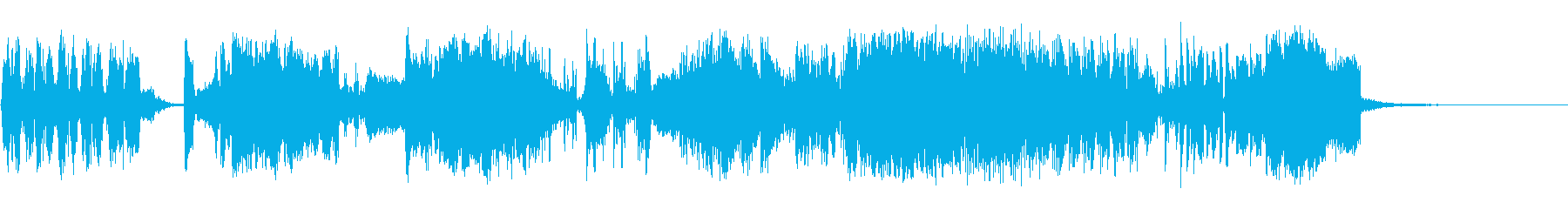 高オクタンの再生済みの波形