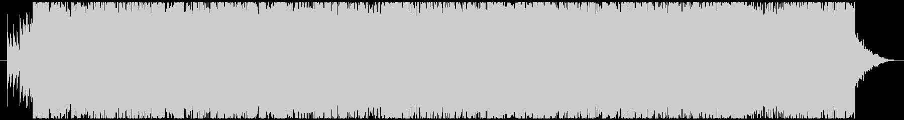 エモーショナルなメタル/ハードコア 叙情の未再生の波形