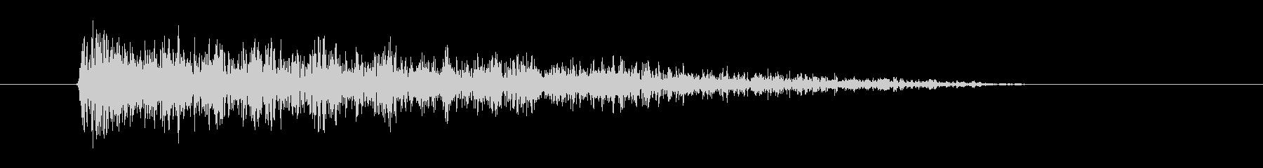 レーザー音-38-3の未再生の波形