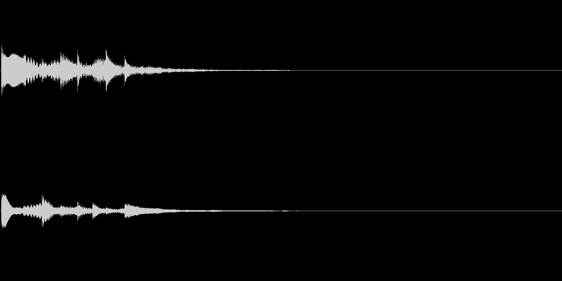 octave_vibeキラキラスロー上昇の未再生の波形