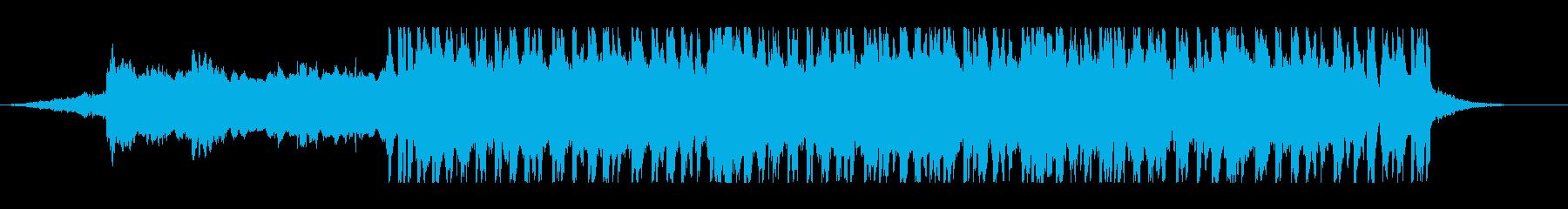 1分CM仕様/機械的/アナーキーなロックの再生済みの波形