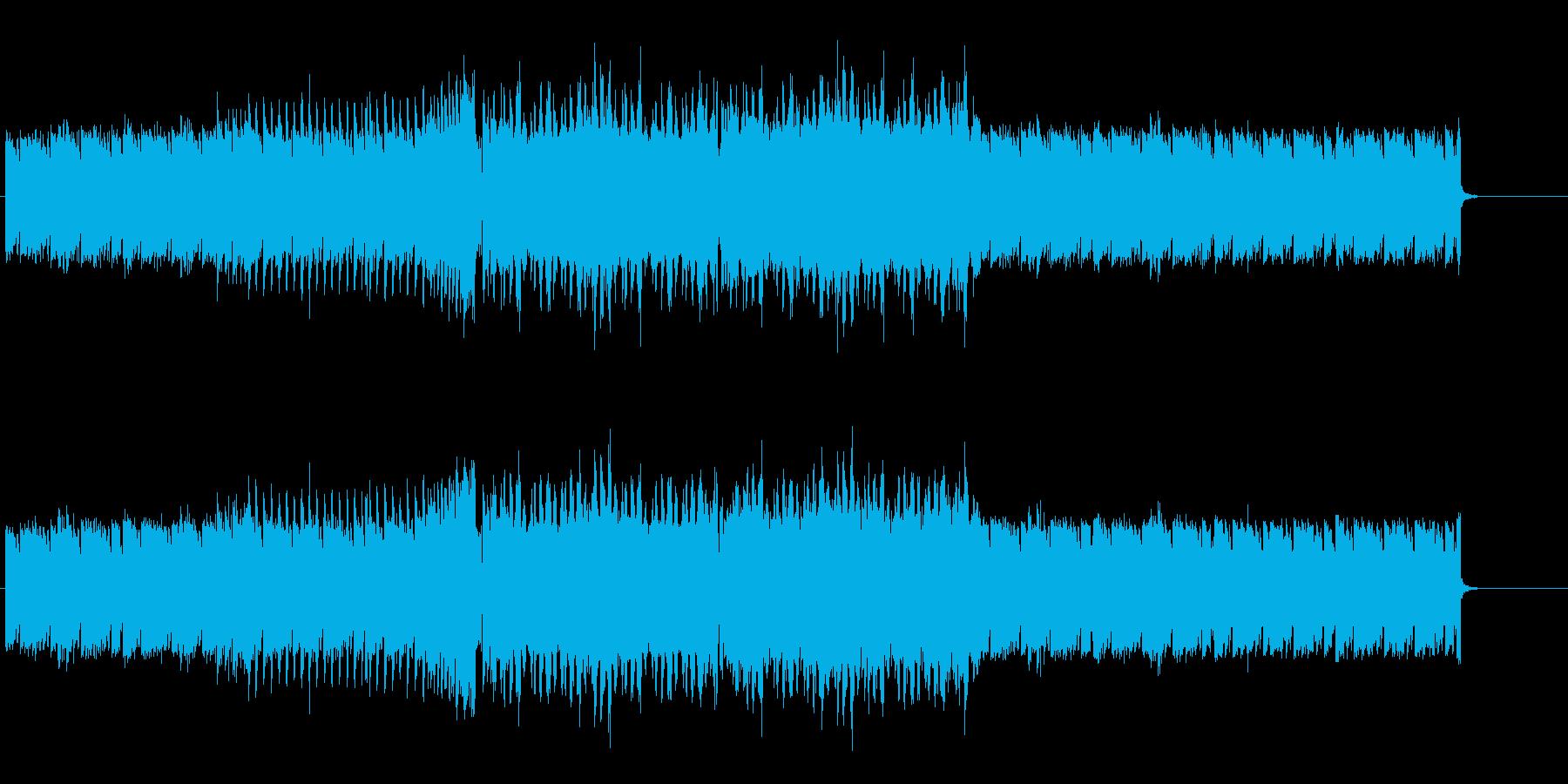 ストリート系の跳ねたくなるEDMの再生済みの波形