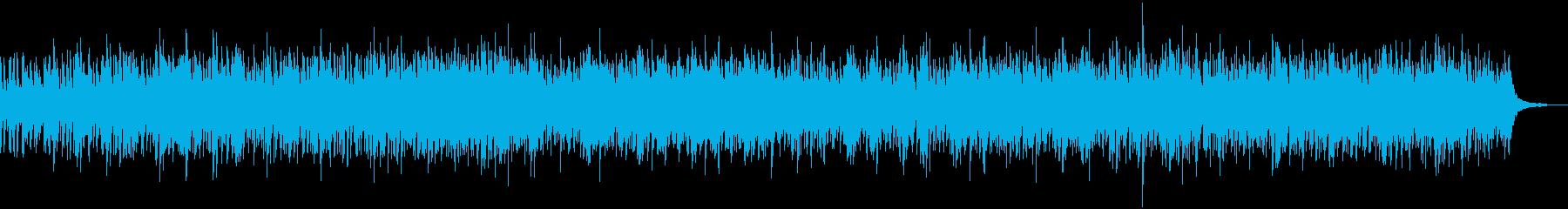 アコースティック、ウクレレベースの...の再生済みの波形
